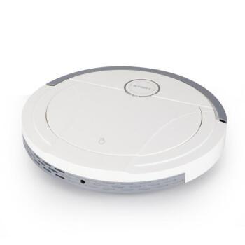 掃除ロボット家庭用5 W大出力落下防止知能掃除ロボット家庭用充電三合一自動掃除機家庭用多機能ドトーン同項おすすめパールホワイト